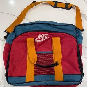 Vintage Nike Colorblock Computer Bag
